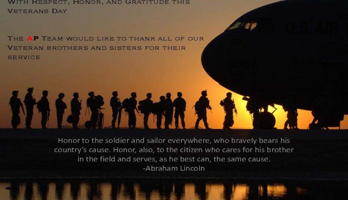 Veterans Day Appreciation