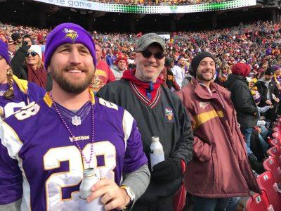 AP NOVA enjoys Redskins Vs Vikings