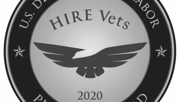 Hire Vets Medallion
